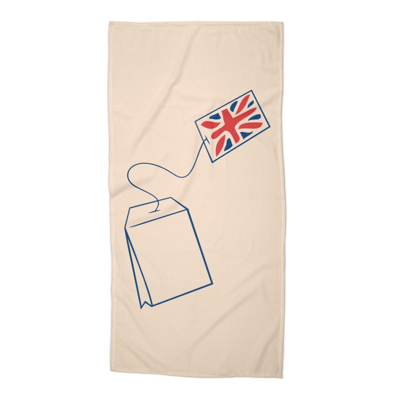 Little Tea Bag Accessories Beach Towel by Synner Design