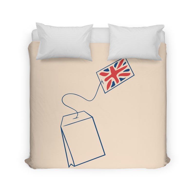 Little Tea Bag Home Duvet by Synner Design
