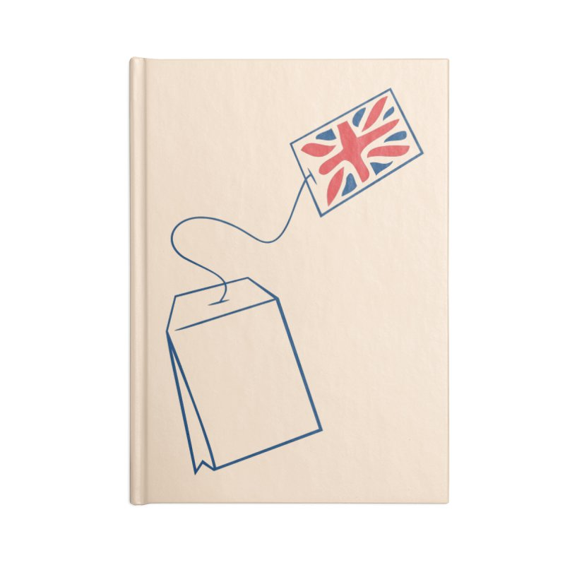 Little Tea Bag Accessories Notebook by Synner Design