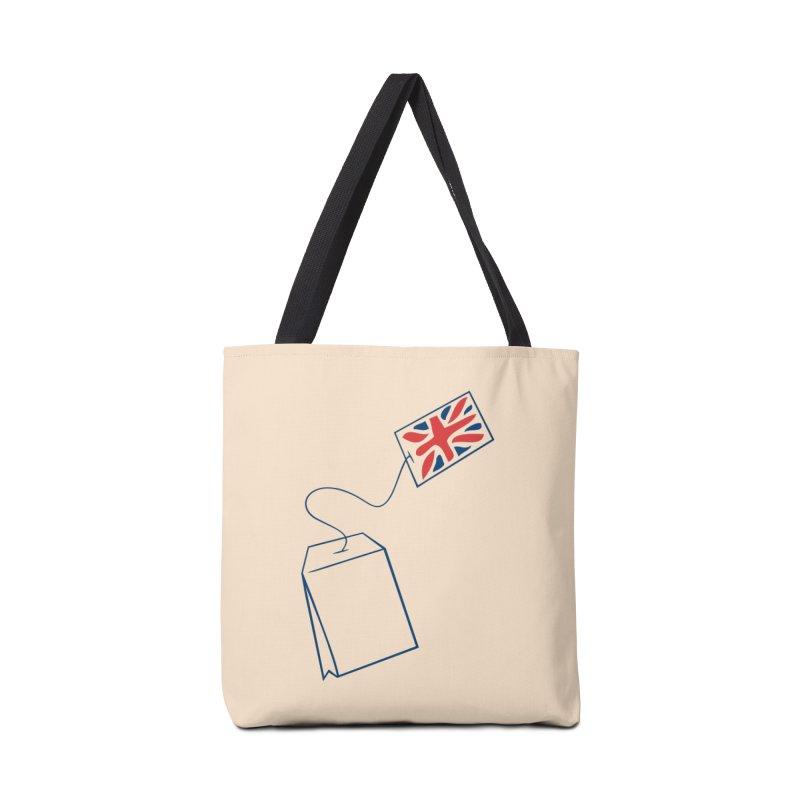 Little Tea Bag Accessories Bag by Synner Design