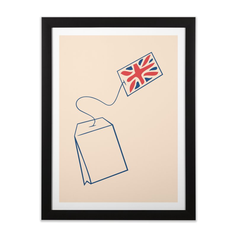 Little Tea Bag Home Framed Fine Art Print by Synner Design