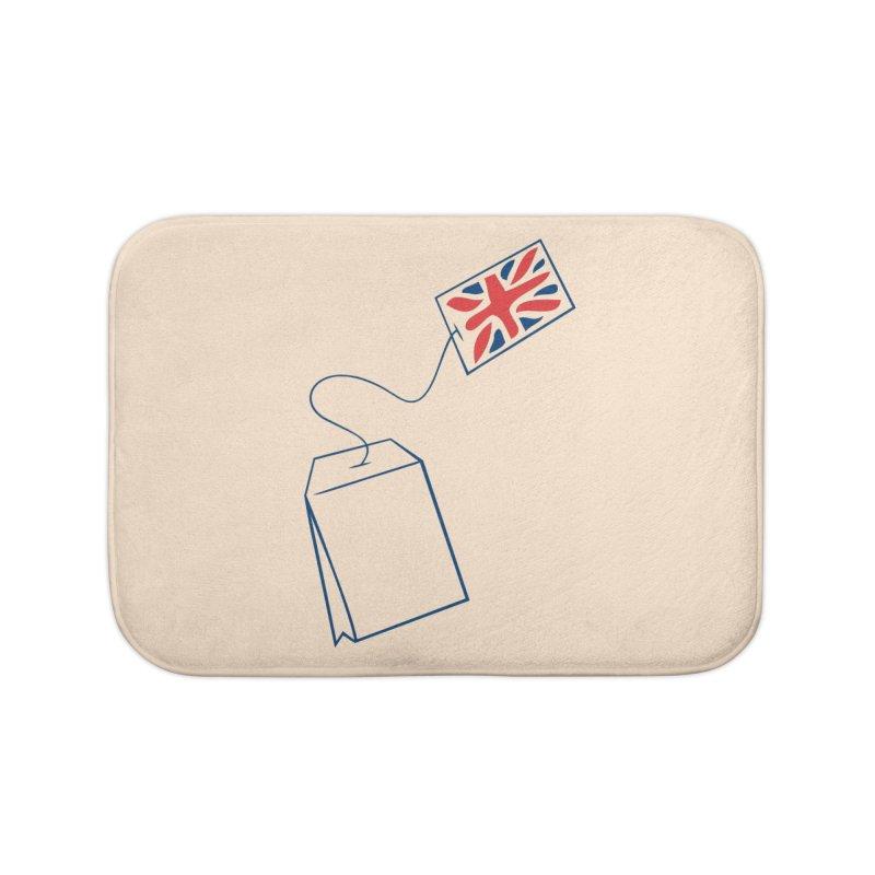 Little Tea Bag Home Bath Mat by Synner Design