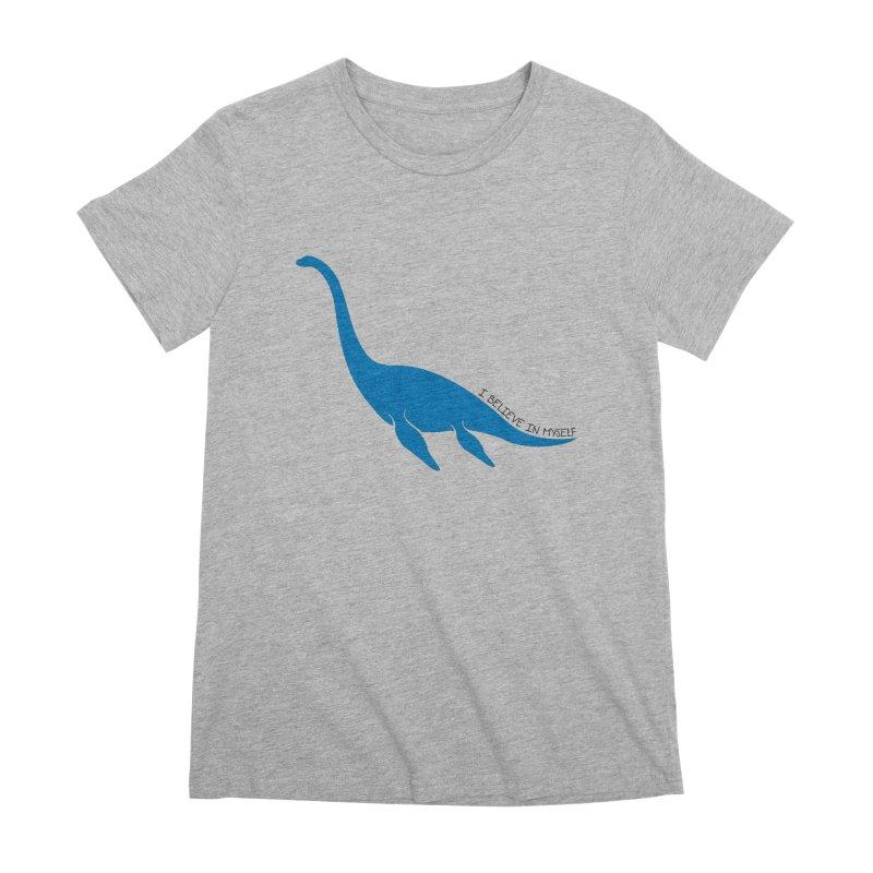 Nessie, I believe! Women's Premium T-Shirt by Synner Design