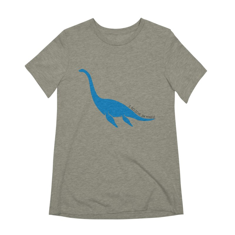 Nessie, I believe! Women's Extra Soft T-Shirt by Synner Design