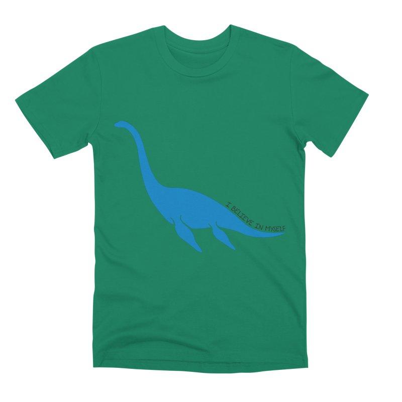 Nessie, I believe! Men's Premium T-Shirt by Synner Design