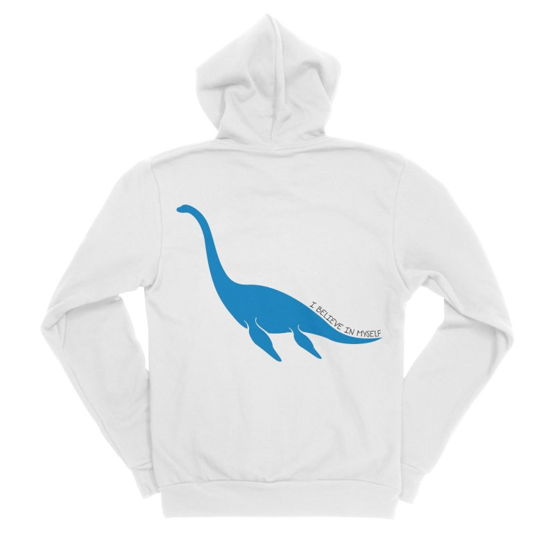 Nessie, I believe! Men's Sponge Fleece Zip-Up Hoody by Synner Design