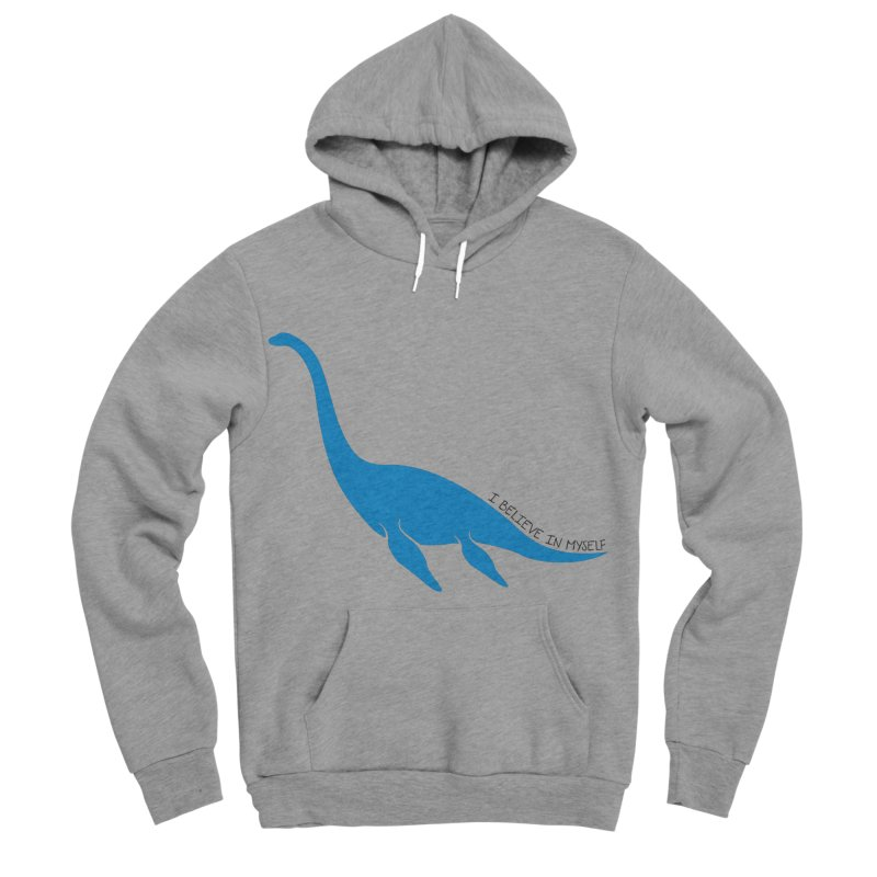 Nessie, I believe! Men's Sponge Fleece Pullover Hoody by Synner Design