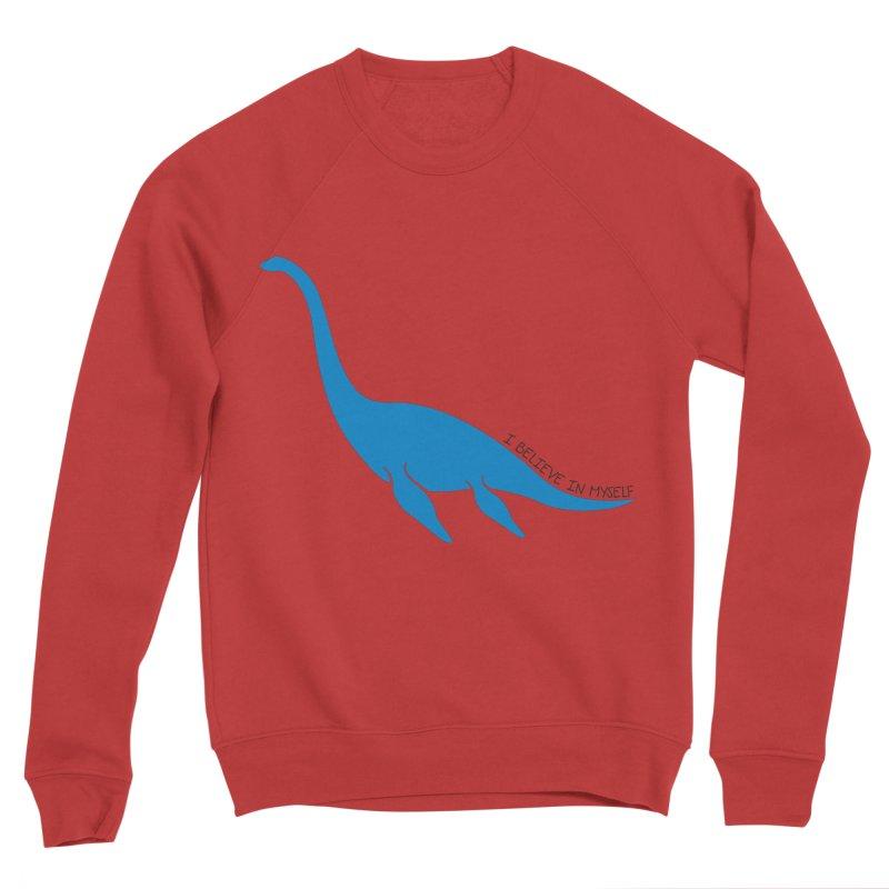 Nessie, I believe! Men's Sponge Fleece Sweatshirt by Synner Design