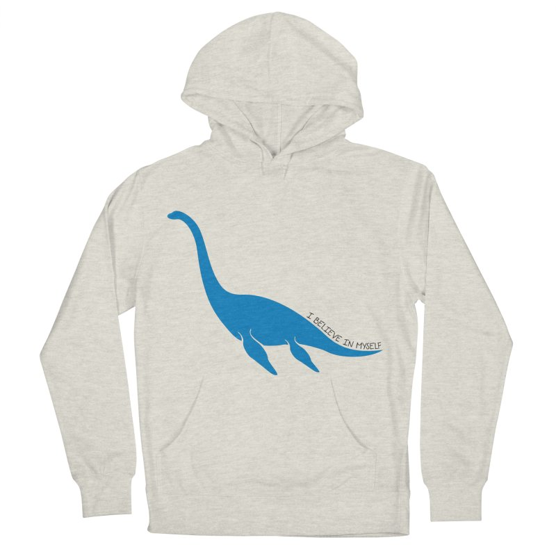 Nessie, I believe! Women's French Terry Pullover Hoody by Synner Design