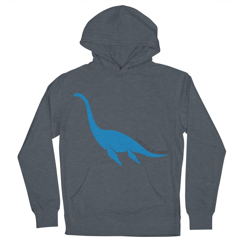 Nessie, I believe! Men's French Terry Pullover Hoody by Synner Design