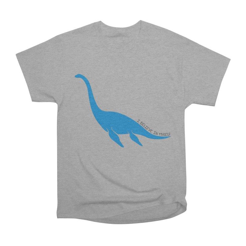 Nessie, I believe! Men's Heavyweight T-Shirt by Synner Design