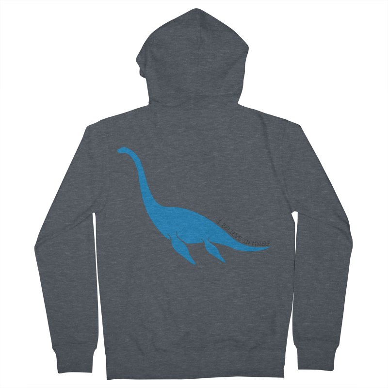 Nessie, I believe! Women's French Terry Zip-Up Hoody by Synner Design