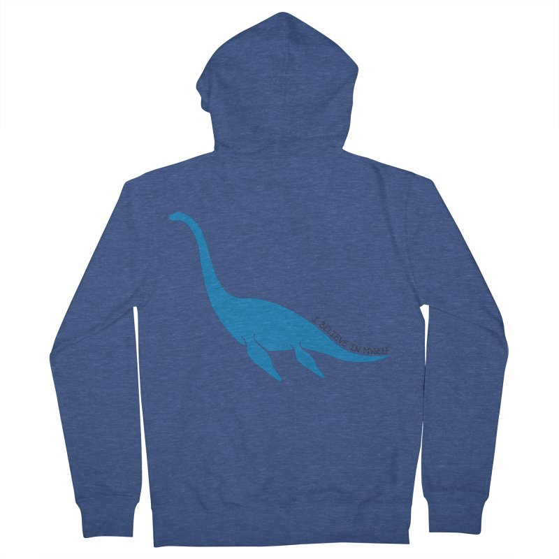 Nessie, I believe! Men's Zip-Up Hoody by Synner Design