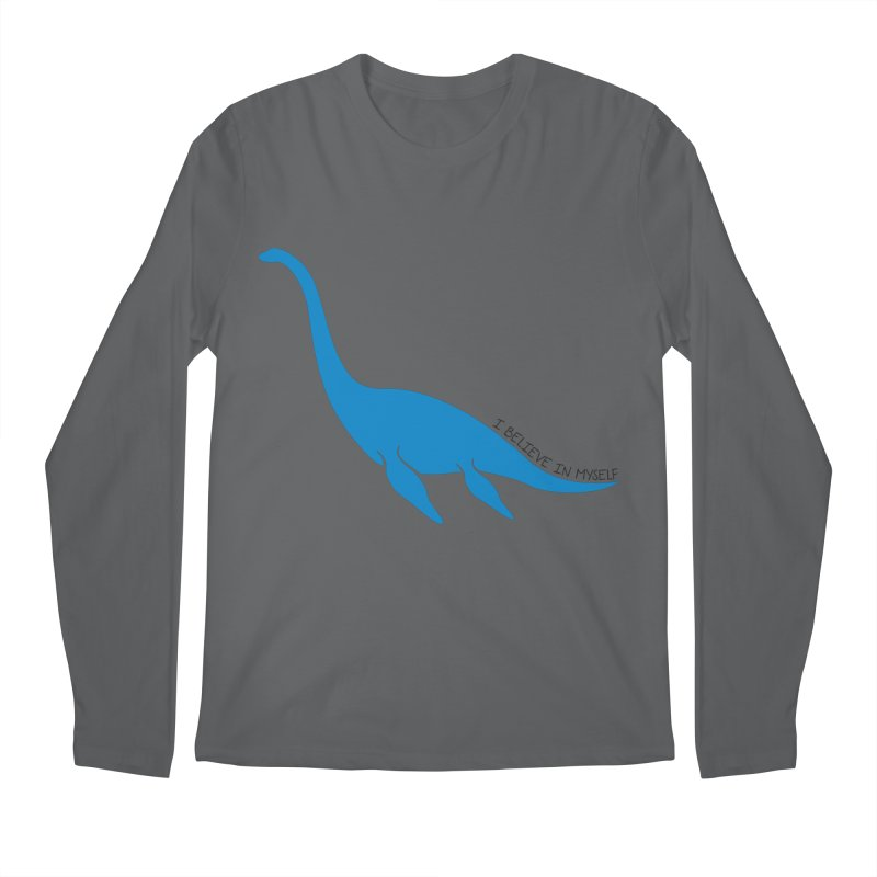 Nessie, I believe! Men's Regular Longsleeve T-Shirt by Synner Design