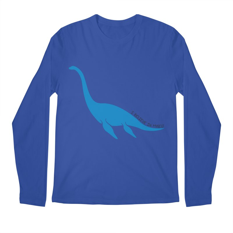 Nessie, I believe! Men's Longsleeve T-Shirt by Synner Design