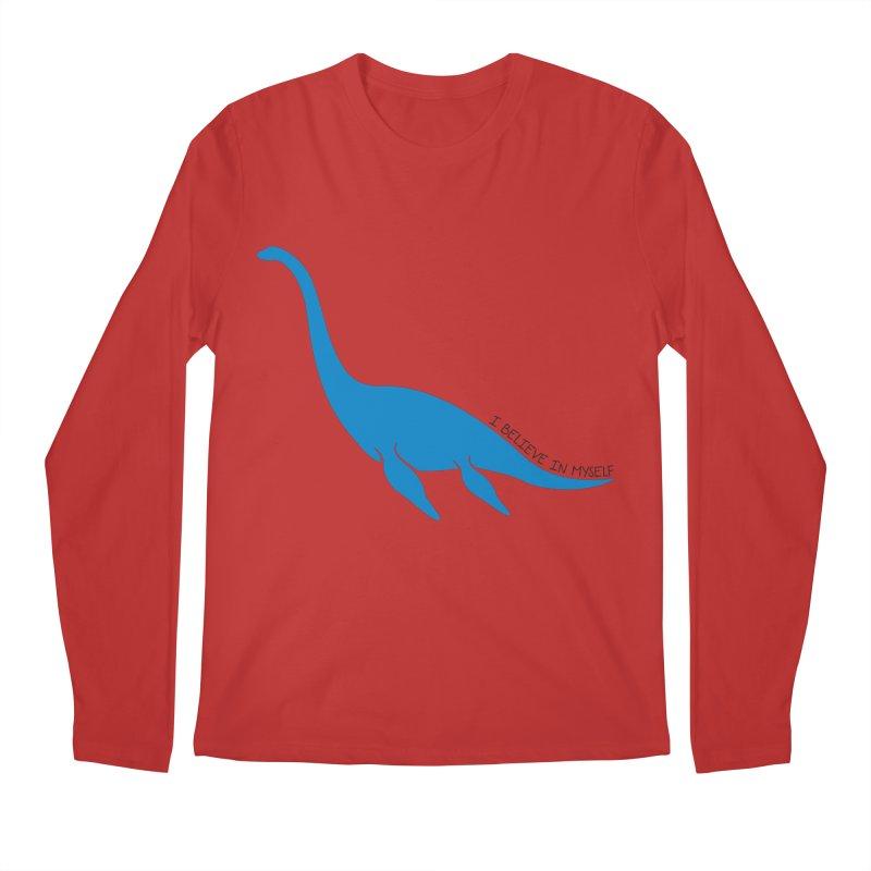 Nessie, I believe! Men's Regular Longsleeve T-Shirt by Synner Design