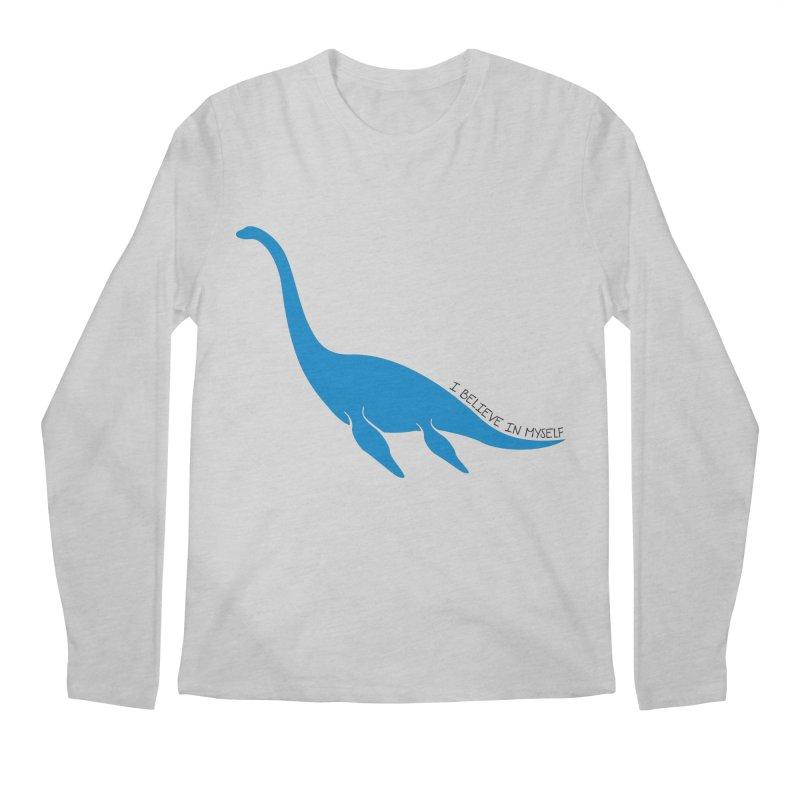 Nessie, I believe! Men's Longsleeve T-Shirt by Synner Design