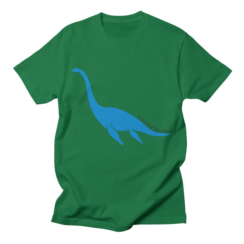 Nessie, I believe! Men's Regular T-Shirt by Synner Design
