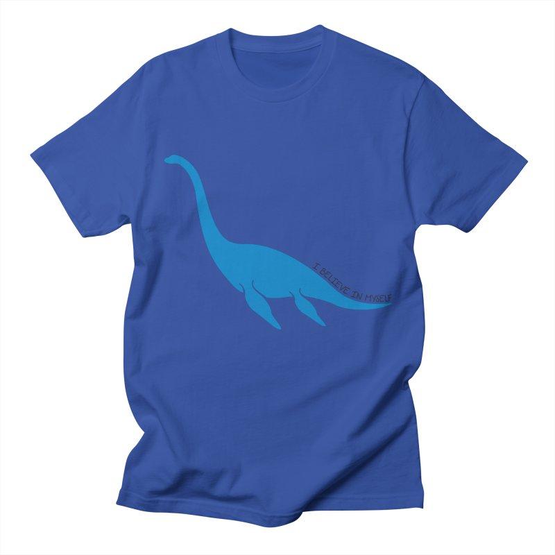 Nessie, I believe! Men's Regular T-Shirt by Synner Design