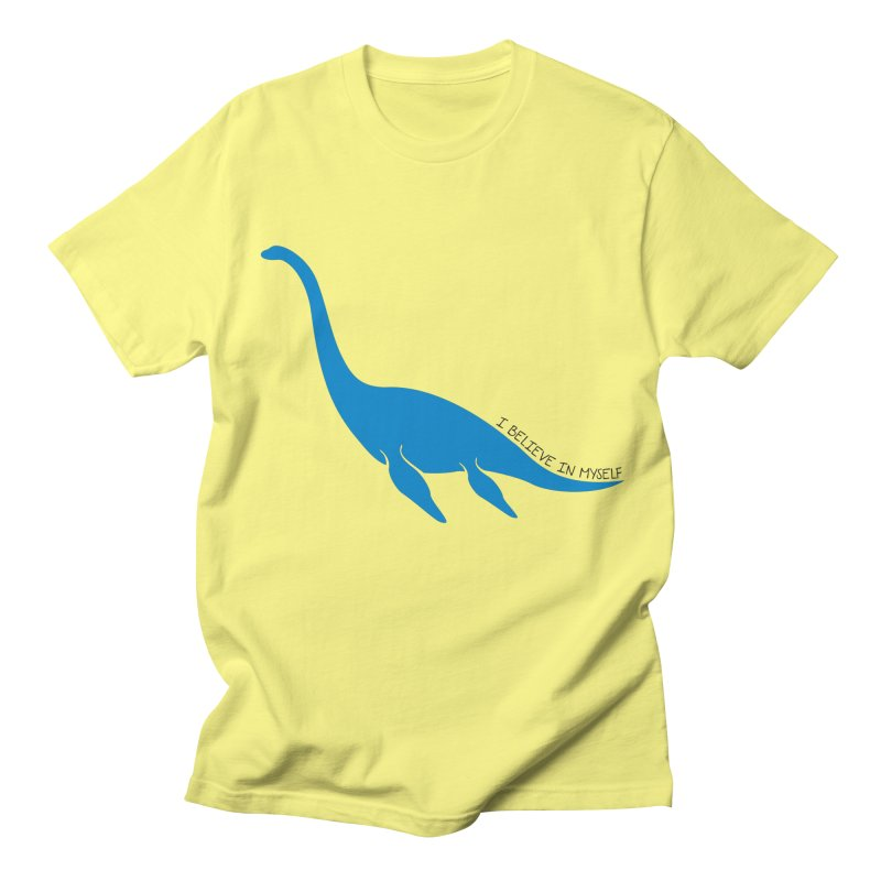Nessie, I believe! Women's Regular Unisex T-Shirt by Synner Design