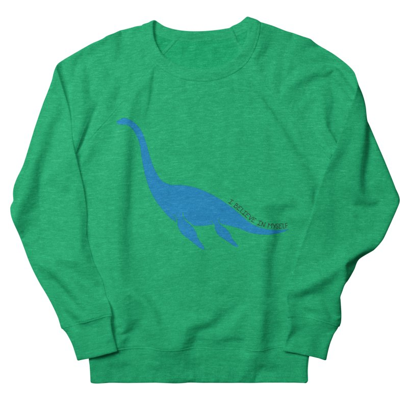 Nessie, I believe! Women's French Terry Sweatshirt by Synner Design