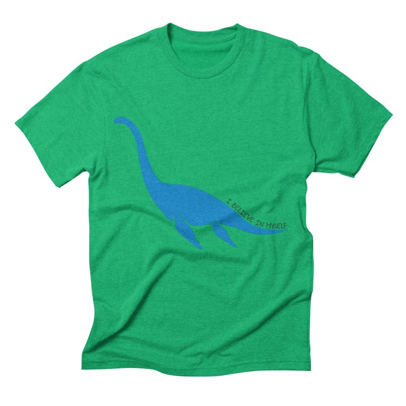 Nessie, I believe! Men's Triblend T-Shirt by Synner Design