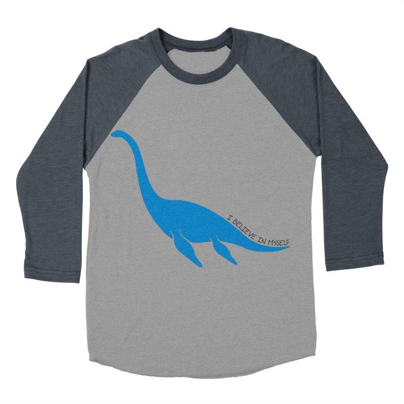 Nessie, I believe! Women's Baseball Triblend T-Shirt by Synner Design