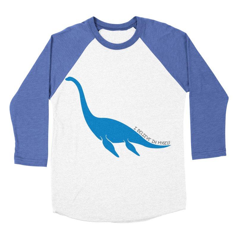 Nessie, I believe! Men's Baseball Triblend T-Shirt by Synner Design