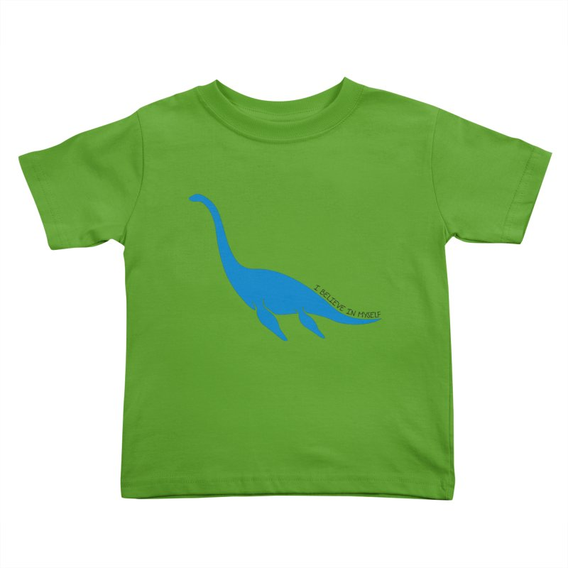 Nessie, I believe! Kids Toddler T-Shirt by Synner Design