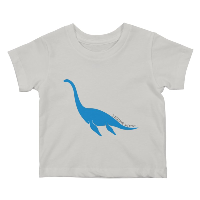 Nessie, I believe! Kids Baby T-Shirt by Synner Design