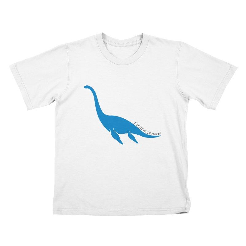 Nessie, I believe! Kids T-Shirt by Synner Design