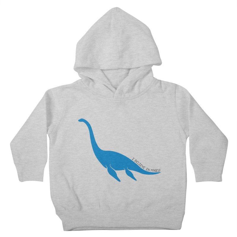 Nessie, I believe! Kids Toddler Pullover Hoody by Synner Design