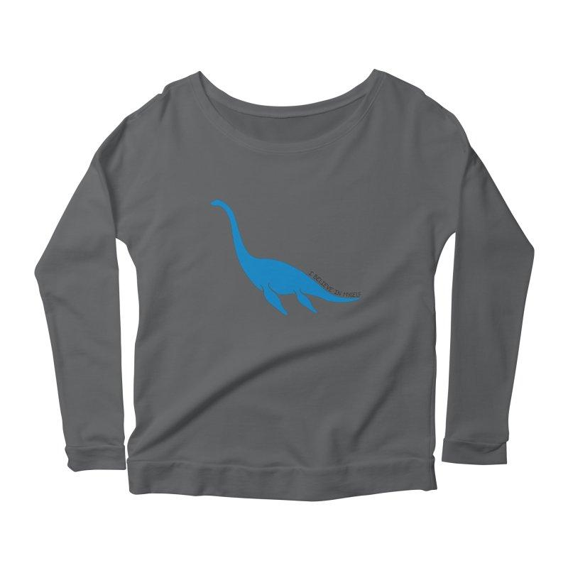 Nessie, I believe! Women's Longsleeve T-Shirt by Synner Design