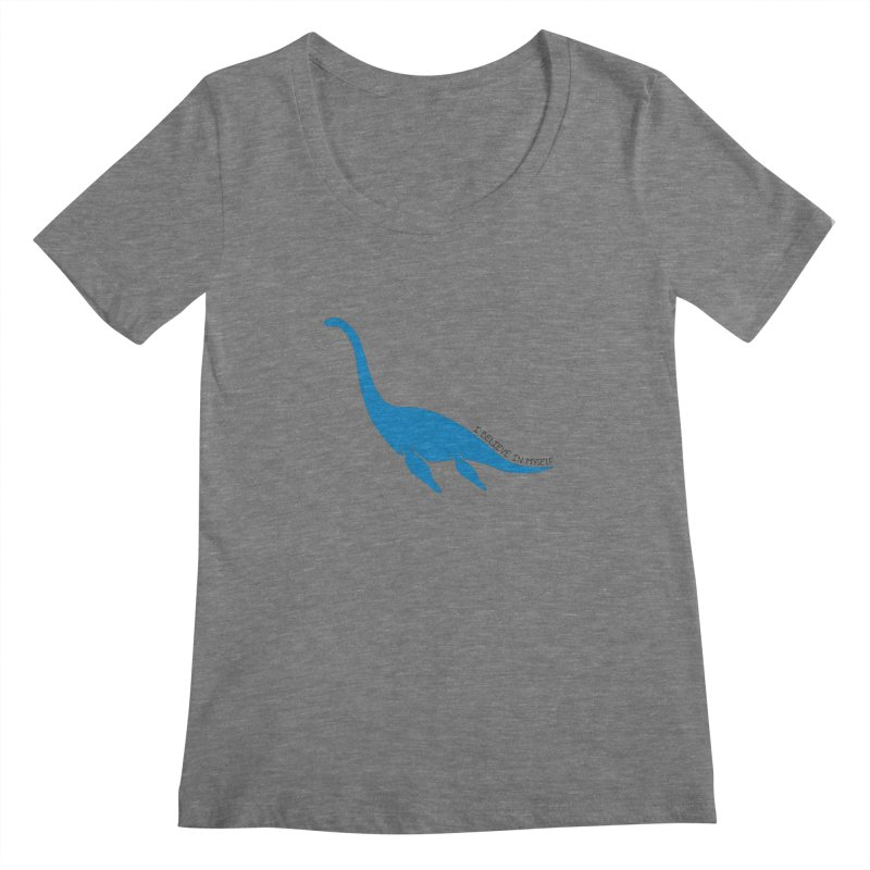 Nessie, I believe! Women's Scoopneck by Synner Design