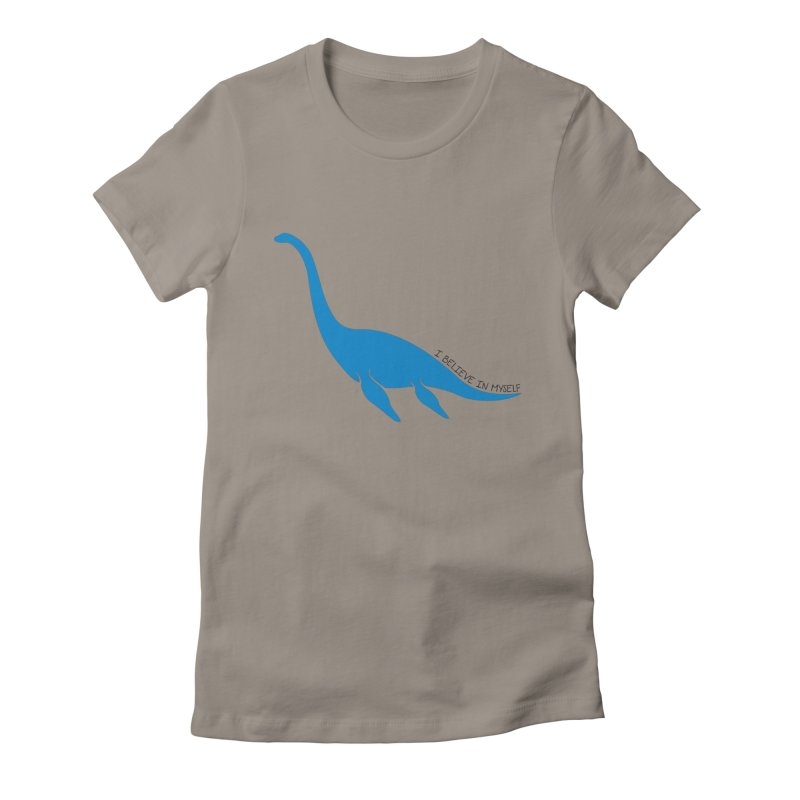 Nessie, I believe! Women's Fitted T-Shirt by Synner Design
