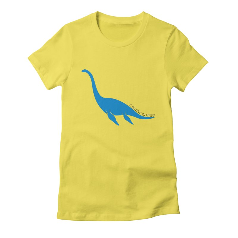 Nessie, I believe! Women's T-Shirt by Synner Design