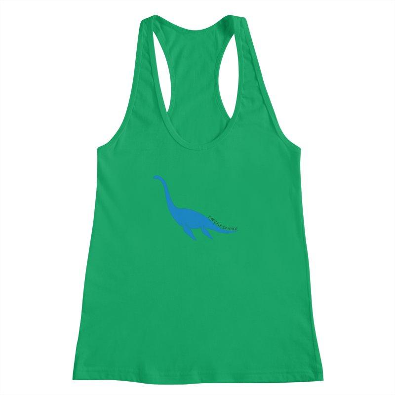 Nessie, I believe! Women's Tank by Synner Design