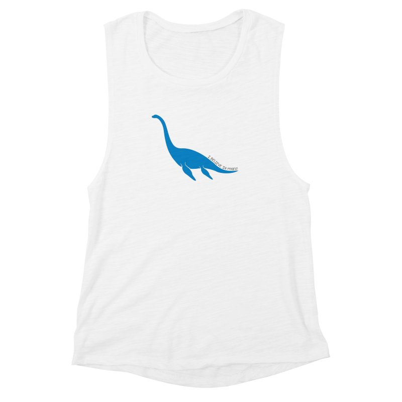 Nessie, I believe! Women's Muscle Tank by Synner Design