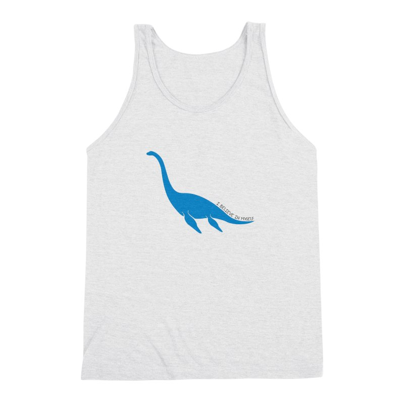 Nessie, I believe! Men's Triblend Tank by Synner Design