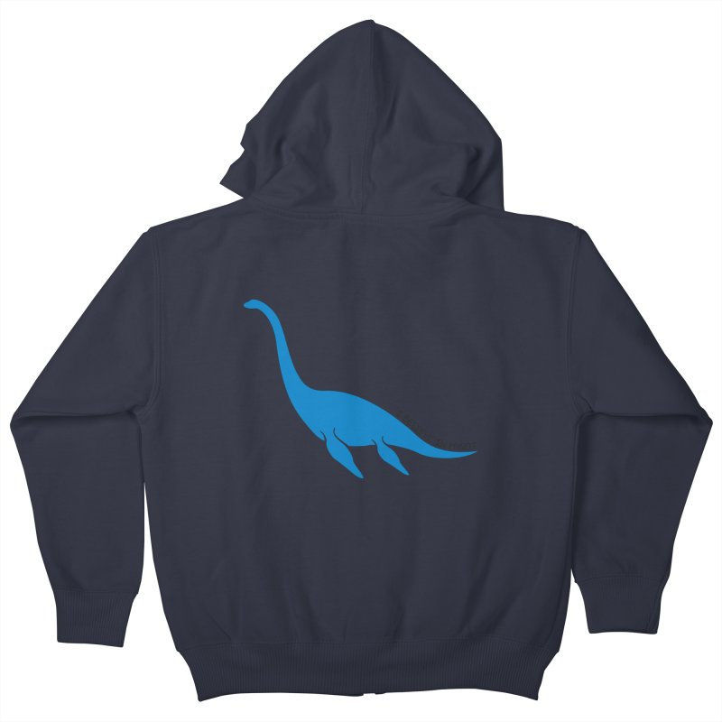 Nessie, I believe! Kids Zip-Up Hoody by Synner Design
