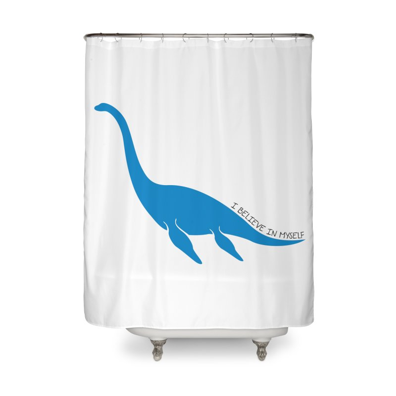 Nessie, I believe! Home Shower Curtain by Synner Design