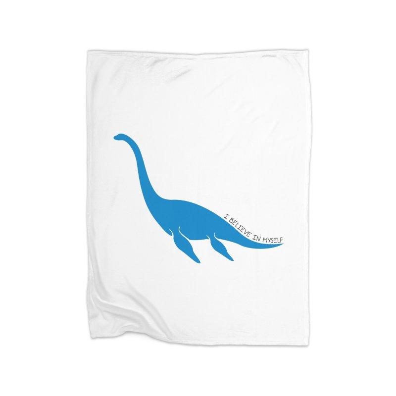 Nessie, I believe! Home Fleece Blanket Blanket by Synner Design