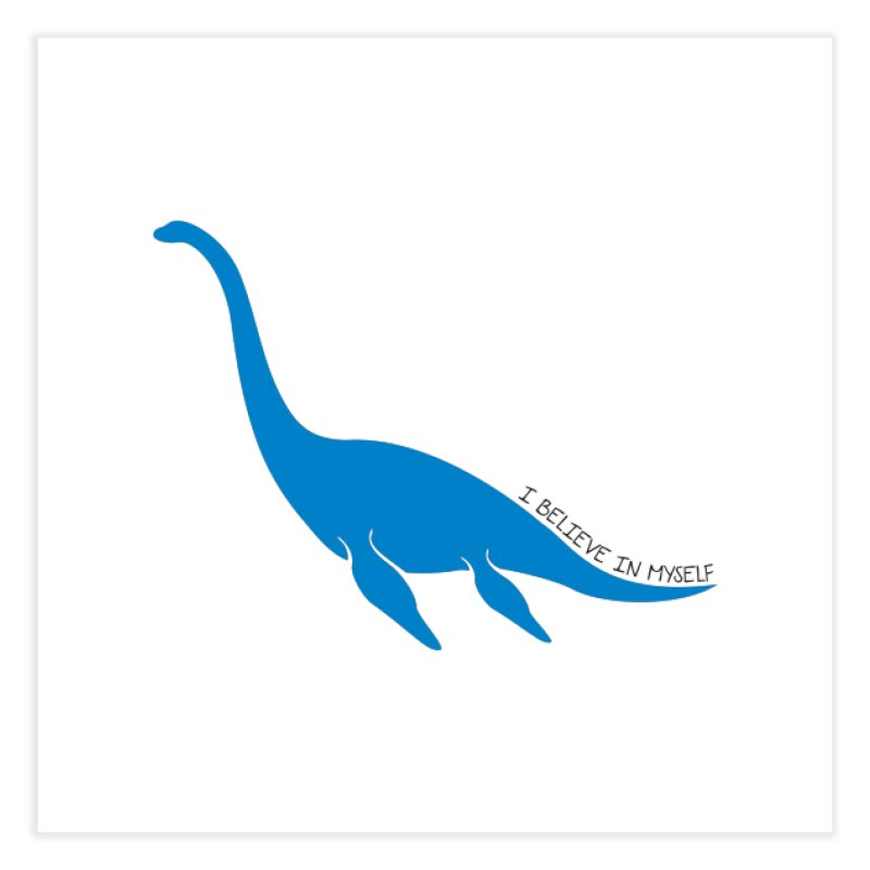 Nessie, I believe! Home Fine Art Print by Synner Design