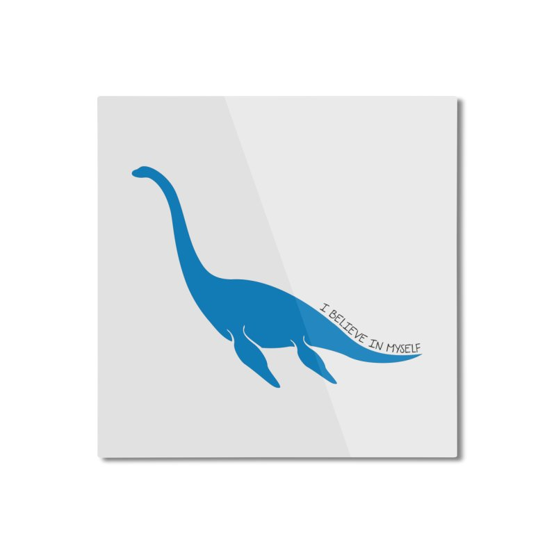 Nessie, I believe! Home Mounted Aluminum Print by Synner Design