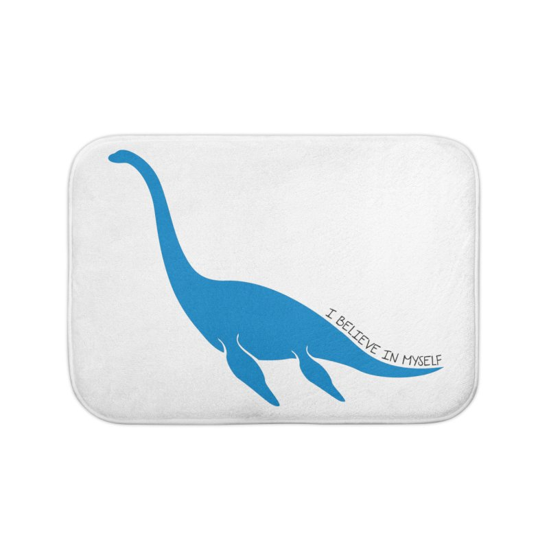Nessie, I believe! Home Bath Mat by Synner Design