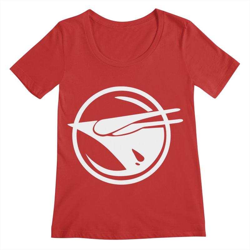 Rebel Phoenix Women's Regular Scoop Neck by Synner Design
