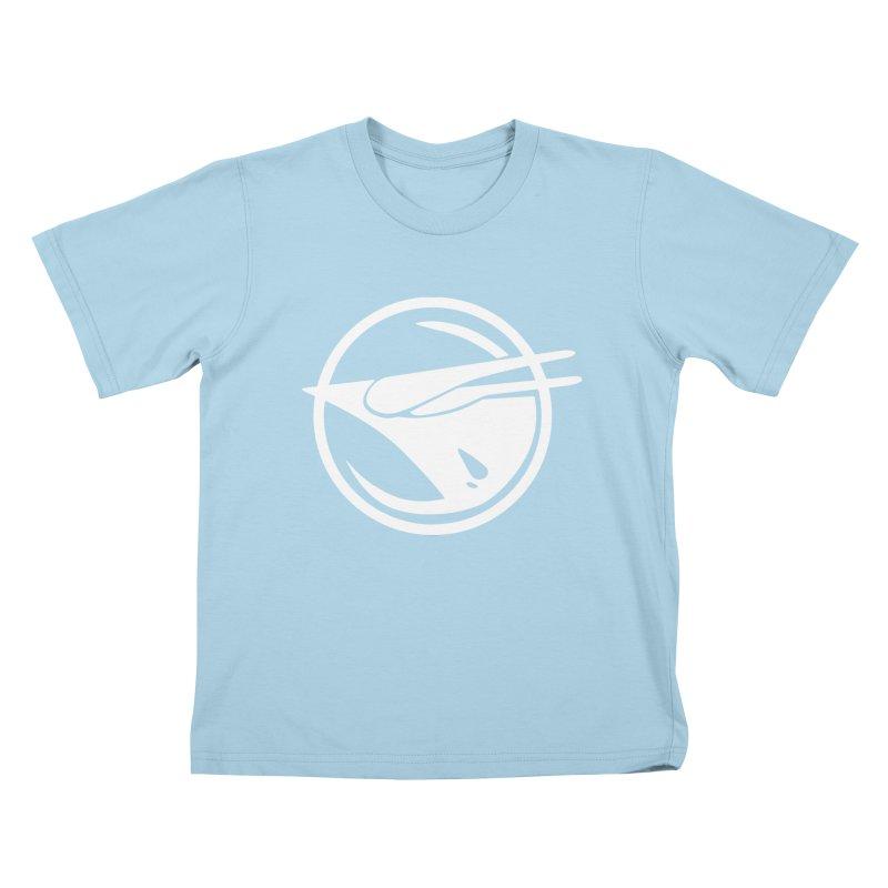 Rebel Phoenix Kids T-Shirt by Synner Design