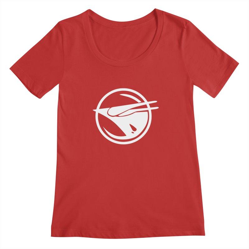 Rebel Phoenix Women's Scoop Neck by Synner Design