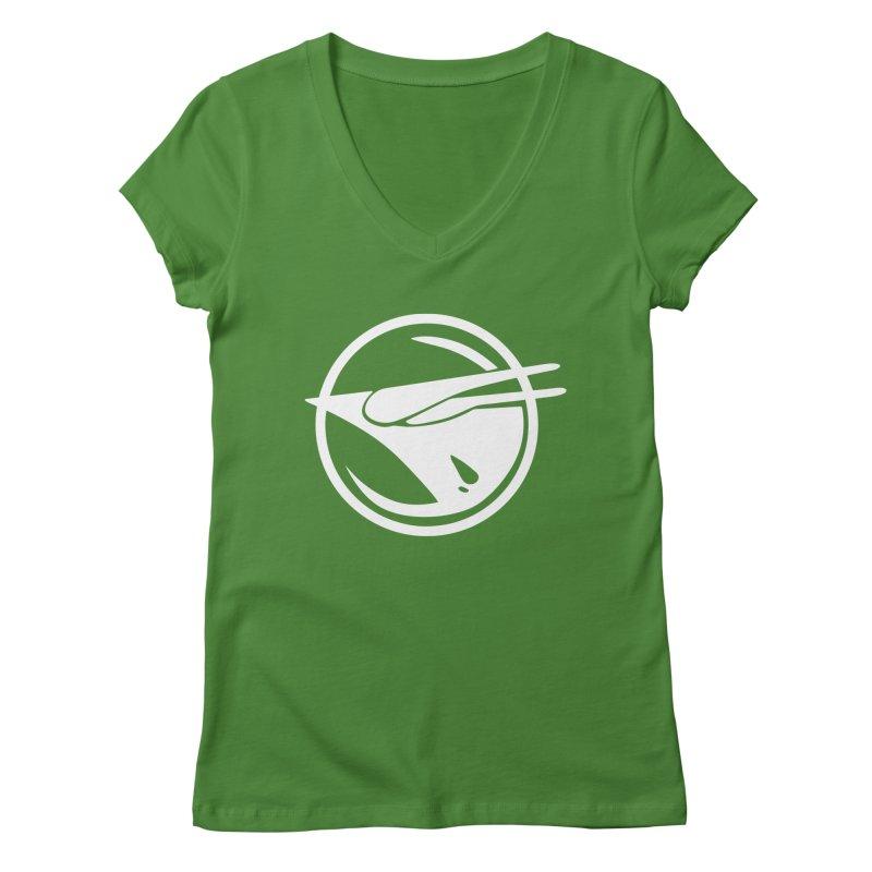 Rebel Phoenix Women's Regular V-Neck by Synner Design