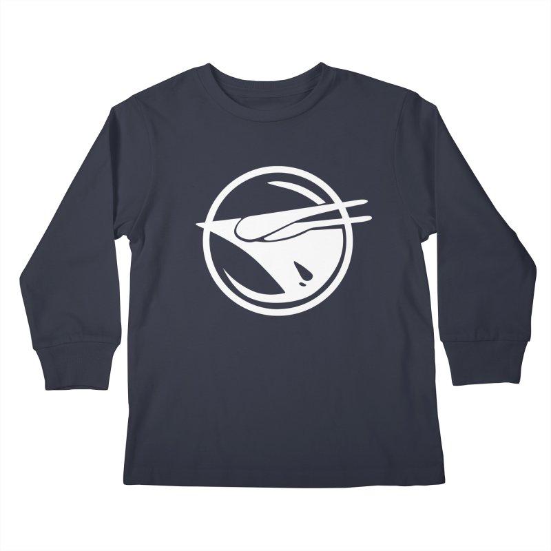 Rebel Phoenix Kids Longsleeve T-Shirt by Synner Design